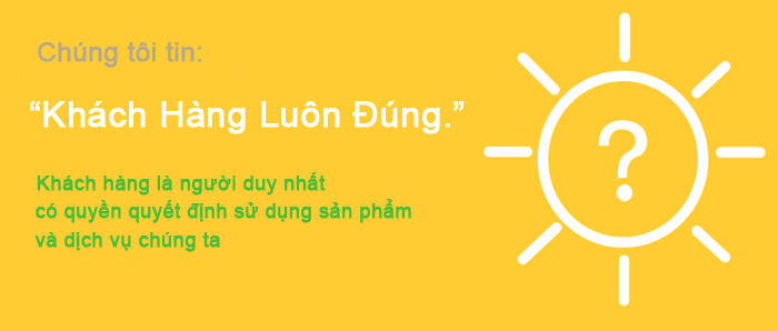 khach hang luon dung